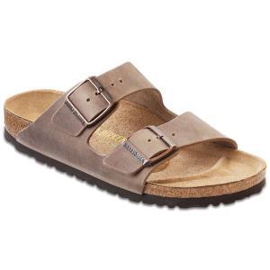 ビルケンシュトック メンズ シューズ・靴 サンダル Birkenstock Arizona Sandal Tobacco Oiled Leather|fermart-shoes