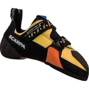スカルパ メンズ シューズ・靴 クライミング Booster S Climbing Shoe Black/Yellow|fermart-shoes