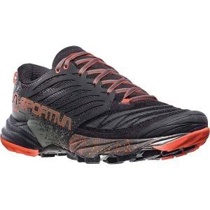 ラスポルティバ メンズ シューズ・靴 陸上 Akasha Shoe Black / Tangerine|fermart-shoes