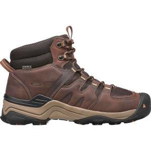 キーン メンズ シューズ・靴 ブーツ Keen Gypsum II Mid Waterproof Boot Coffee Bean / Bronze Mist|fermart-shoes