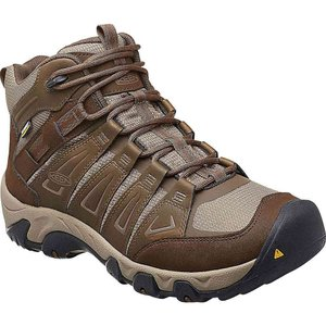 キーン メンズ シューズ・靴 ブーツ Keen Oakridge Mid Waterproof Boot Cascade / Brindle|fermart-shoes