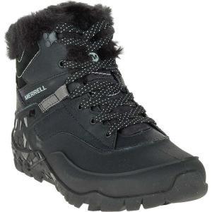 メレル レディース スニーカー シューズ・靴 Merrell Aurora 6 Ice+ Waterproof Boot Black|fermart-shoes