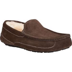アグ Ugg メンズ スリッパ シューズ・靴 Ascot Suede Slipper Espresso|fermart-shoes