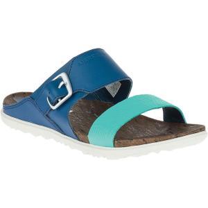 メレル Merrell レディース サンダル・ミュール シューズ・靴 Around Town Buckle Print Slide Poseidon|fermart-shoes