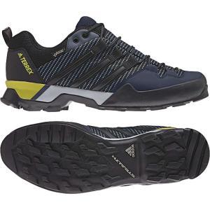 アディダス メンズ シューズ・靴 ハイキング・登山 Terrex Scope GTX Shoe Core Blue / Black / Eqt Yellow|fermart-shoes