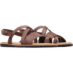 ソレル Sorel レディース サンダル・ミュール シューズ・靴 Ella Criss Cross Sandal Tobacco|fermart-shoes