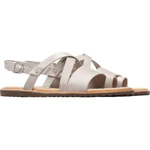 ソレル Sorel レディース サンダル・ミュール シューズ・靴 Ella Criss Cross Sandal Dove|fermart-shoes