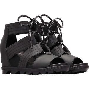 ソレル Sorel レディース サンダル・ミュール シューズ・靴 Joanie II Lace Sandal Black|fermart-shoes