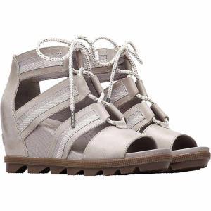 ソレル Sorel レディース サンダル・ミュール シューズ・靴 Joanie II Lace Sandal Dove|fermart-shoes
