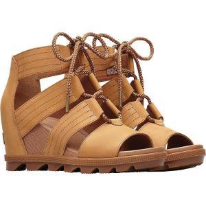 ソレル Sorel レディース サンダル・ミュール シューズ・靴 Joanie II Lace Sandal Camel Brown|fermart-shoes
