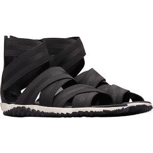 ソレル Sorel レディース サンダル・ミュール シューズ・靴 Out N About Plus Strap Sandal Black|fermart-shoes