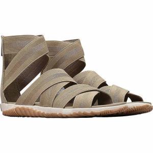 ソレル Sorel レディース サンダル・ミュール シューズ・靴 Out N About Plus Strap Sandal Sage|fermart-shoes