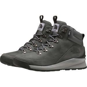 ザ ノースフェイス The North Face メンズ ハイキング・登山 ブーツ シューズ・靴 Back-To-Berkeley Mid WP Boot Zinc Grey/TNF Black fermart-shoes