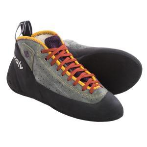 イボルブ Evolv レディース シューズ・靴 クライミング Astroman Climbing Shoes Grey|fermart-shoes