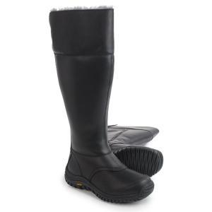 アグ UGG Australia レディース ブーツ シューズ・靴 Miko Boots - Waterproof, Leather Black|fermart-shoes