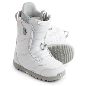 バートン Burton レディース シューズ・靴 スキー・スノーボード Mint Snowboard Boots White/Gray|fermart-shoes