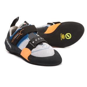 スカルパ メンズ シューズ・靴 クライミング Force X Climbing Shoes - Suede Ink Blue|fermart-shoes