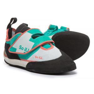ソイル レディース シューズ・靴 クライミング The Runner LV Climbing Shoes Green/Blue/Coral|fermart-shoes