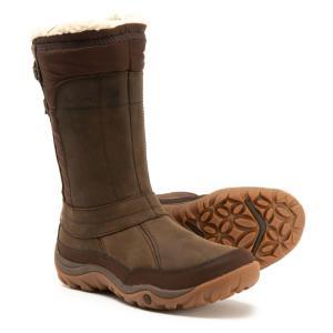 メレル Merrell レディース ブーツ シューズ・靴 Murren Mid Snow Boots - Waterproof, Insulated Bracken|fermart-shoes