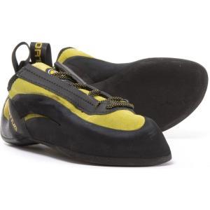 ラスポルティバ La Sportiva レディース シューズ・靴 クライミング Made in Italy Miura Flat-Last Climbing Shoes Black/Yellow|fermart-shoes