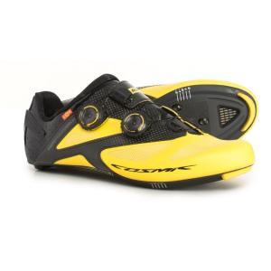 マヴィック Mavic メンズ シューズ・靴 自転車 Cosmic Ultimate Road Cycling Shoes Yellow/Black fermart-shoes