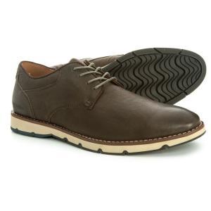 ハッシュパピー Hush Puppies メンズ 革靴・ビジネスシューズ シューズ・靴 Titan Plain-Toe Oxford Shoes - Leather Dark Grey fermart-shoes