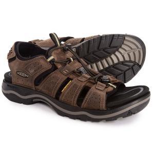 キーン Keen メンズ サンダル シューズ・靴 Rialto Sandals Dark Earth/Black|fermart-shoes