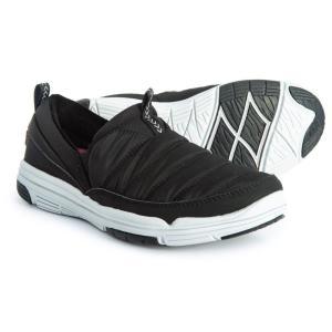 ライカ ryka レディース スリッポン・フラット シューズ・靴 Adel Sneakers - Slip-Ons Black|fermart-shoes
