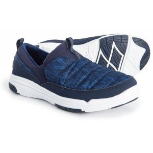 ライカ ryka レディース スリッポン・フラット シューズ・靴 Adel Sneakers - Slip-Ons Blue|fermart-shoes