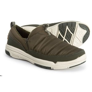 ライカ ryka レディース スリッポン・フラット シューズ・靴 Adel Sneakers - Slip-Ons Apline Green|fermart-shoes