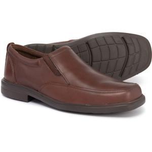 ハッシュパピー Hush Puppies メンズ ローファー シューズ・靴 Platon Hopper Slip-On Loafers - Leather Brown|fermart-shoes