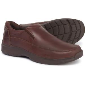ハッシュパピー Hush Puppies メンズ ローファー シューズ・靴 Lorcan Henson Slip-On Loafers - Leather Brown|fermart-shoes