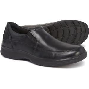 ハッシュパピー Hush Puppies メンズ ローファー シューズ・靴 Lorcan Henson Slip-On Loafers - Leather Black|fermart-shoes