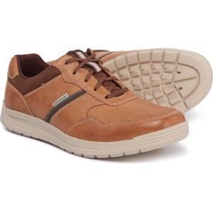 ロックポート Rockport メンズ スニーカー シューズ・靴 Randle Ubal Sneakers - Leather Tan|fermart-shoes