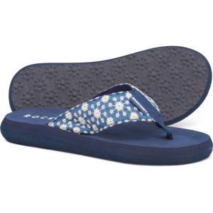 ロケットドッグ Rocket Dog レディース ビーチサンダル シューズ・靴 Comfort Flip-Flops Blue|fermart-shoes