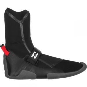 ビラボン メンズ シューズ・靴 サーフィン 3mm Furnace Carbon Ultra Split Toe Boots Black|fermart-shoes