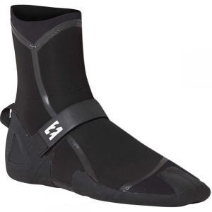 ビラボン メンズ シューズ・靴 サーフィン 7mm Furnace Carbon Ultra Split Toe Booties Black|fermart-shoes