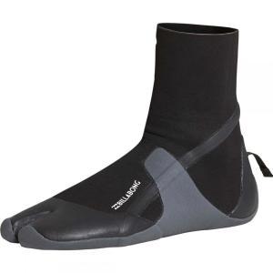 ビラボン Billabong メンズ シューズ・靴 サーフィン 5mm Furnace Absolute Split Toe Booties Black|fermart-shoes