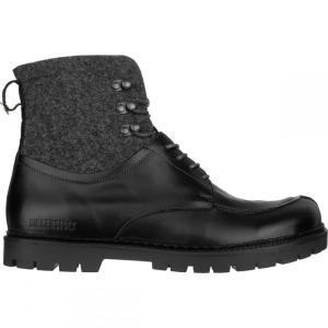 ビルケンシュトック メンズ ブーツ シューズ・靴 Timmins High Boots Black Leather fermart-shoes