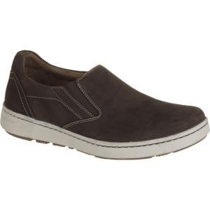 ダンスコ メンズ シューズ・靴 スリッポン Viktor Shoes Brown Milled Nubuck fermart-shoes