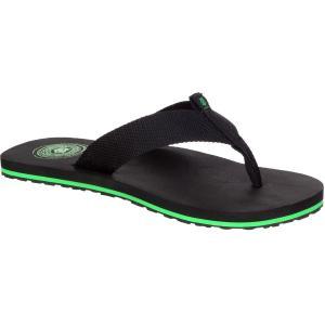イボルブ メンズ シューズ・靴 ビーチサンダル Slack Flip Flop Black|fermart-shoes