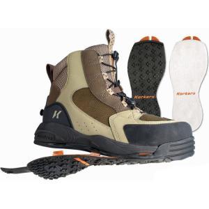コーカーズ メンズ シューズ・靴 釣り・フィッシング Redside Wading Boots Felt and Kling-On Outsole|fermart-shoes