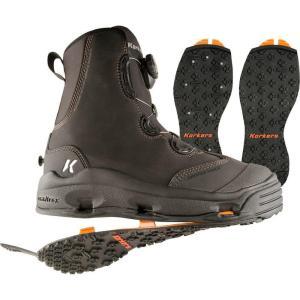 コーカーズ メンズ シューズ・靴 釣り・フィッシング Devil's Canyon Wading Boots Kling-On/Studded Kling-On Soles|fermart-shoes