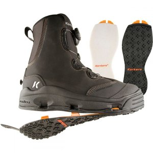 コーカーズ メンズ シューズ・靴 釣り・フィッシング Devil's Canyon Wading Boots Kling-On/Felt Soles|fermart-shoes