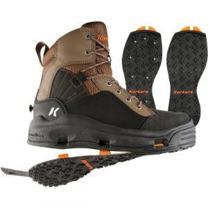 コーカーズ メンズ シューズ・靴 釣り・フィッシング Buckskin Wading Boots Kling-On/Studded Kling-On Soles|fermart-shoes