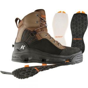 コーカーズ メンズ シューズ・靴 釣り・フィッシング Buckskin Wading Boots Kling-On/Felt Soles|fermart-shoes