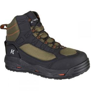コーカーズ メンズ シューズ・靴 釣り・フィッシング Greenback Felt Boots Kling-On/Studded Kling-On Soles|fermart-shoes