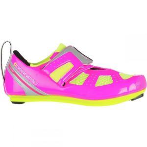 ルイスガーナー レディース トライアスロン シューズ・靴 Tri X - Speed III Shoe Pink Glow/Bright Yellow|fermart-shoes