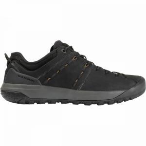 マムート Mammut メンズ シューズ・靴 ハイキング・登山 Hueco Low LTH Shoes Black/Sand fermart-shoes