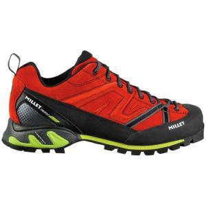 ミレー メンズ シューズ・靴 ハイキング・登山 Trident Guide Approach Shoes Red/Acid Green fermart-shoes